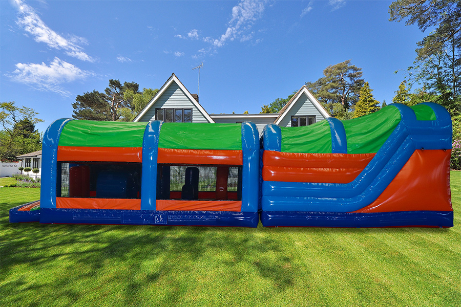 42ft Multi-Colour Energy Obstacle Course