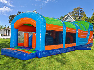 Click for 42ft Multi-Colour Energy Obstacle OBEN04