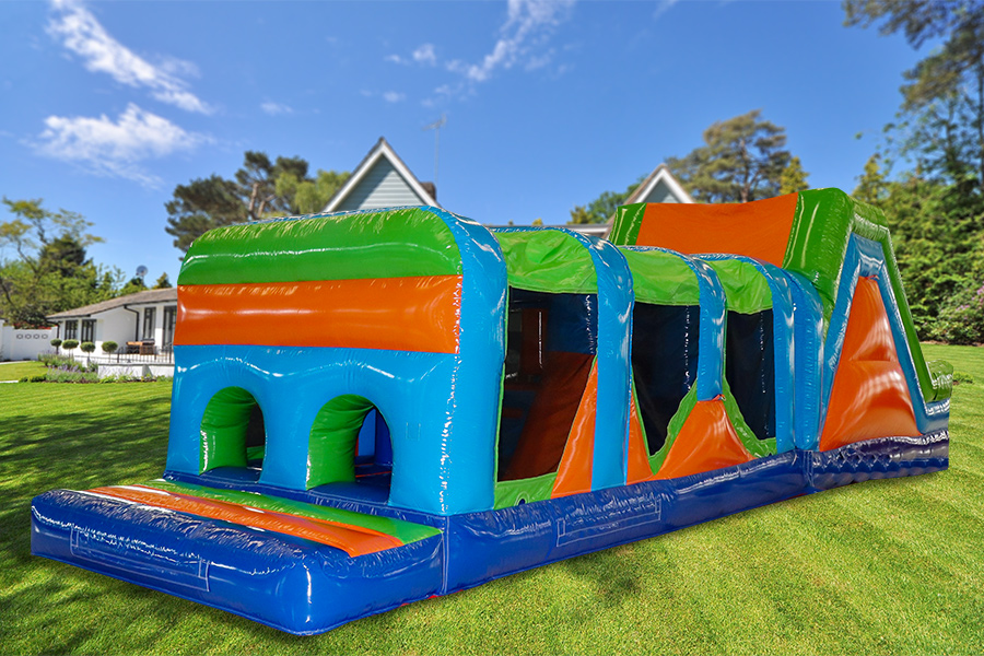 42ft Multi-Colour Rush Obstacle Course