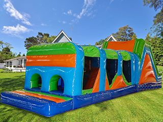 Click for 42ft Multi-Colour Rush Obstacle OBR03