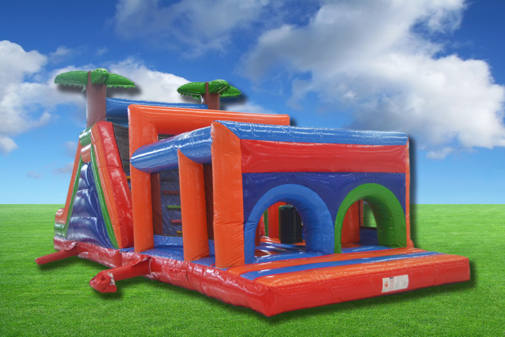 Inflatable Obstacle Course OB07