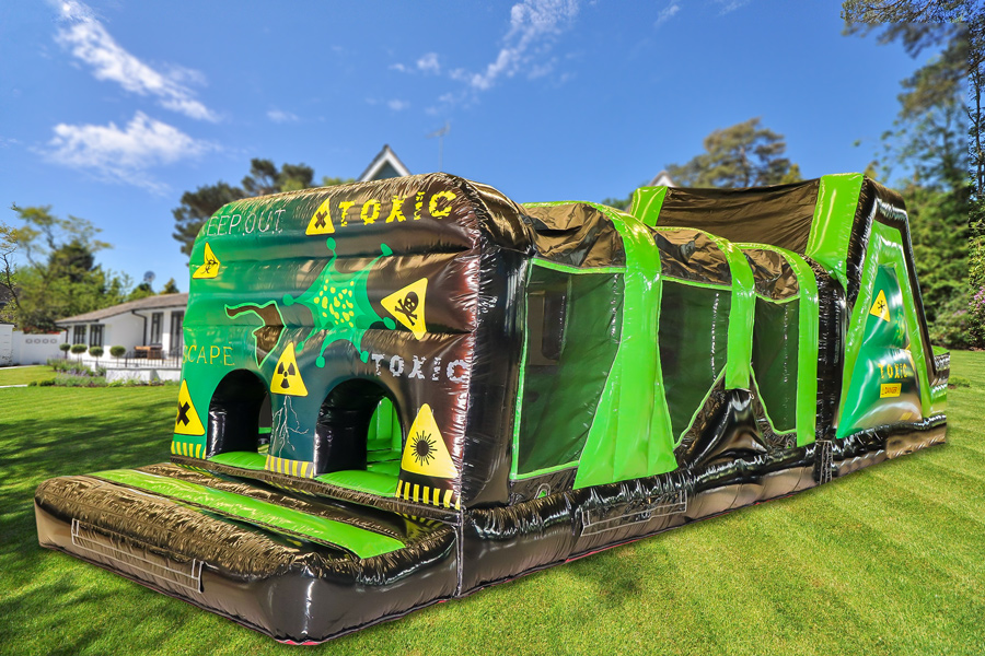 42ft Toxic Obstacle Course