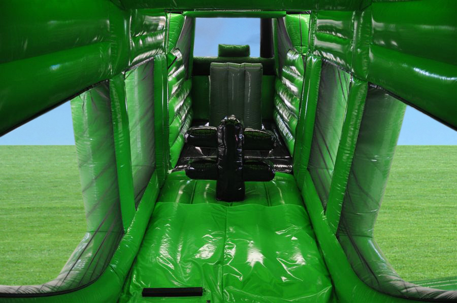 Tractor Trailer Inflatable Green 7