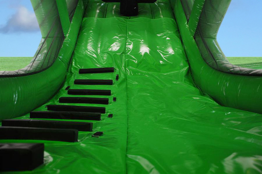 Tractor Trailer Inflatable Green 6